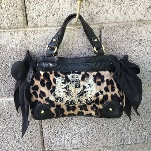 Juicy Couture Animal Print Purse